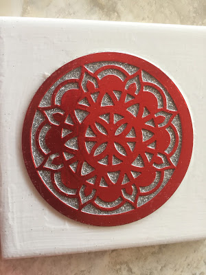Check out PaperCraftsbyElaine.com to learn how to make great coasters from Eastern Medallion Thinlits from Stampin up.