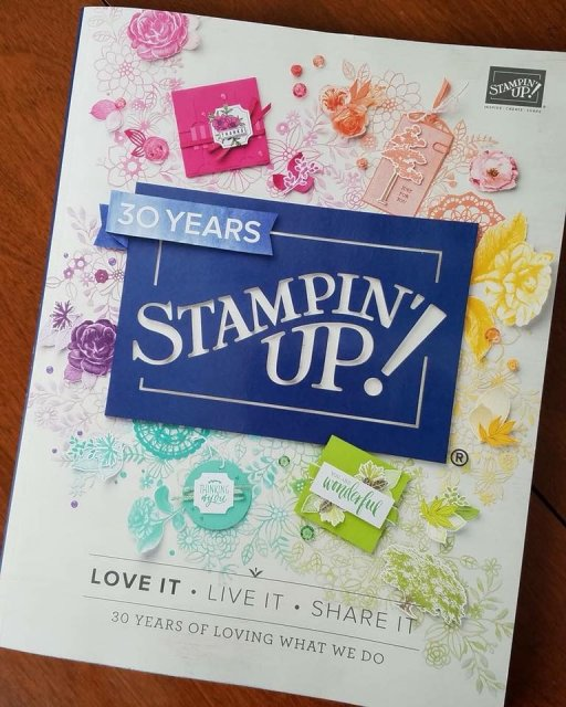 2018-2019 Annual Catalog, Stampin Up, #StampinUp30, Stampartaus, joining stampin Up,