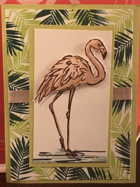 Stampin Blends, Fabulous Flamingo, #stampinup30, #stampinup2018