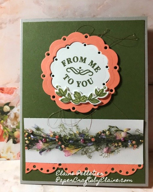 Petal Promenade DSP, Cardmaking, easy cards to make,  Greeting cards, all occasion cards, stamping, floral creation,