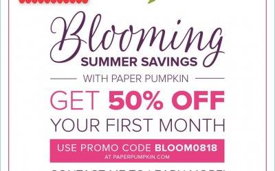 Summer Blooming Sale