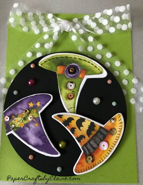 witches hats, halloween fun, trick or treat, Halloween tags, Halloween greeting cards, toils and trouble,