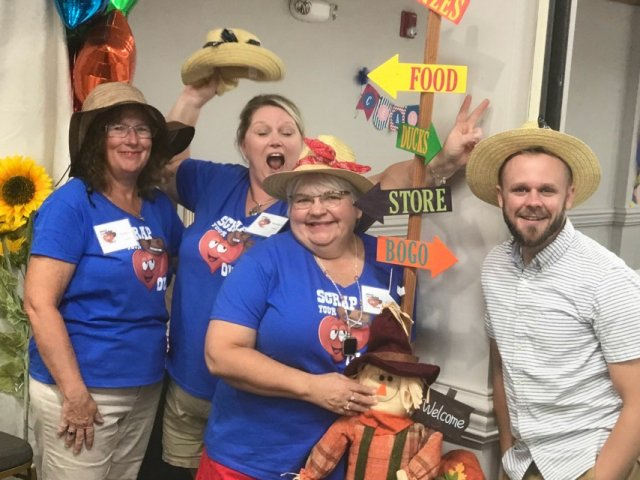 Good Ole' County Fair, #stampinup30, County Fair theme retreats, Photo booth at county fair retreat,