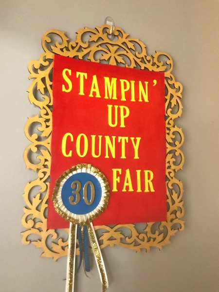 Stampin' Up new gold craft paint, #StampinUp30, Stampin' Up barnyard fun,