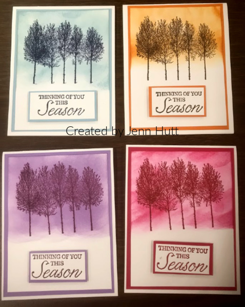 Winter Woods Stampin' Up, greeting cards, year round cards, year round stamp sets, handmade seasonal cards.