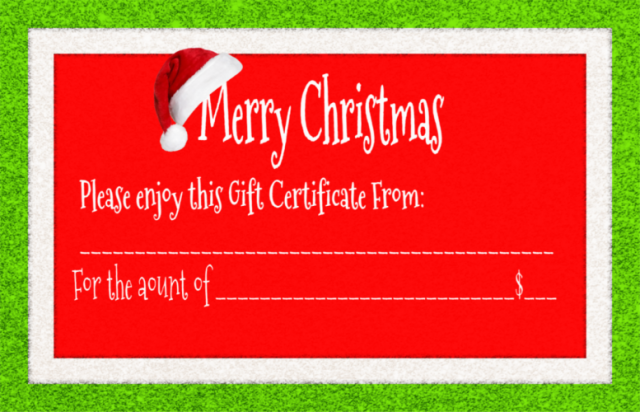 Christmas gift Certificates, Stampin' Up Gift Certificates, Best gift for crafters,  Stampin' Up Gift Card, Gift cards for Crafters,