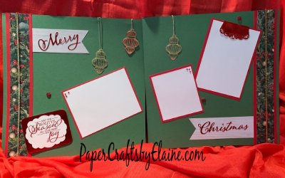 Scrapbook Pages for Christmas
