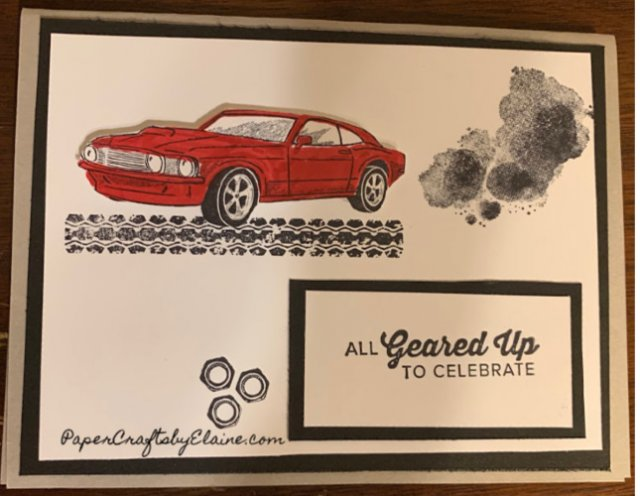classic Car, greeting cards for Homeminm,