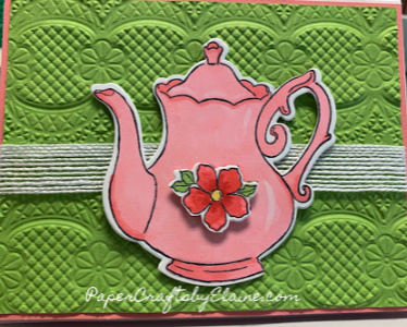 tea together stamp set, tea together framelits, Sale-a-bration 2019, Lovely tea pots, Free tea together framelits, greeting cards, all occasion cards, stamping ideas, lace embossing framelits, tips and tricks to stamping,k