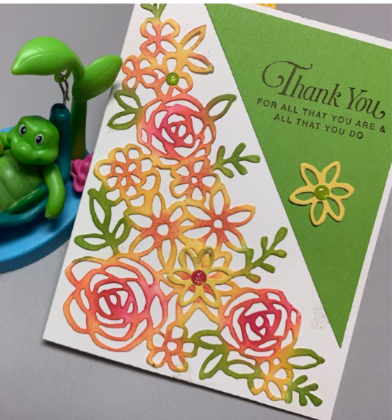 Springtime Impression Thinlets Stampin' Up, Abstract Impression Bundle, greeting cards, handmade cards, techniques with daubers, Thinking of you cards, Birthday cards, Stampin up, #simplestamping, Spring cards,
