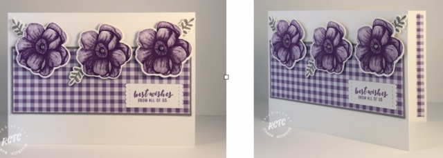 sab 2019, greeting cards, Stampin' Up project, box projects, Gorgeous grapes, handmade cards, handmade greeting cards, gingham dsp,
