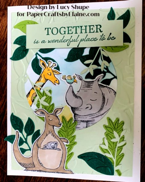 greeting cards, cards for kids, Day at the Zoo cards, animal outing bundle Stampin' Up, Stampin' Up animal outing, together cards, all occasion cards, fun with cards, handmade cards for children, handmade cards for kids