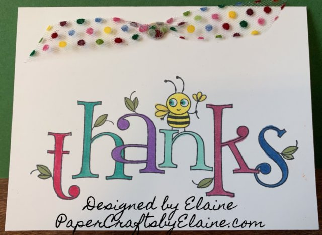 thank you cards, BEE thankful, greeting cards, all occasion cards, handmade cards, thank you for,