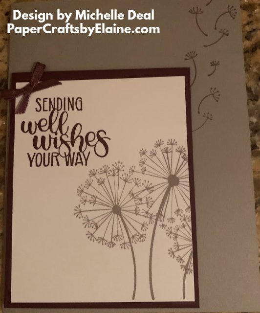 greeting cards, dandelion wishes, Neutral colors, Stampin' Up Dandelion Wishes, all occasion cards, handmade cards, Michelle Deal design team,
