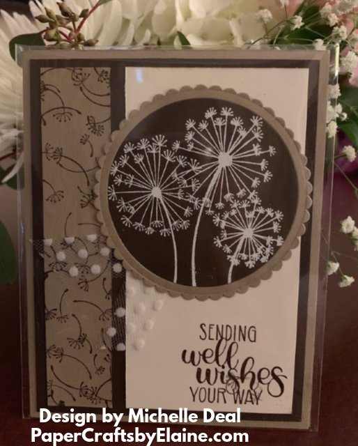 dandelion wishes, stamping wishes,  Michelle Deal designer, greeting cards, all occasion cards,