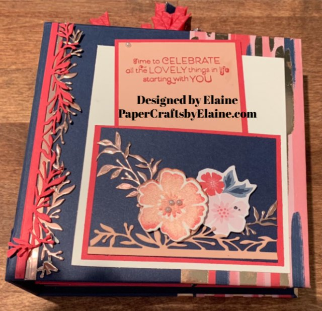 greeting album, greeting cards, all occasion cards, Free tutorial for mini album, Everything Rosy suite, 6x6 quick cards