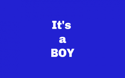 IT's A Boy You get FREE Shipping