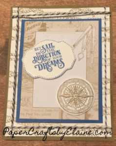 Last chance 2019, come sailing,  Stampin' Up, dreams,  nautical, lighthouses, 10% off  bundles, shop burn