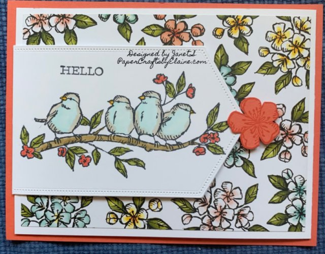 bird Ballad Suite, Free as a Bird stamp set, Stampin Up Bird Ballad, greeting cards, all occasion cards, Bird Ballad laser cut tin, birds from stampin Up, Bird ballad designer series paper,