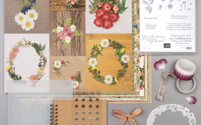 New and Refreshing Pressed Petals Suite