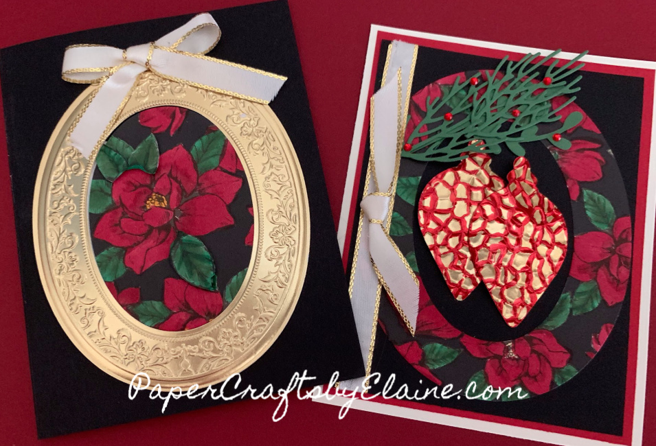 Woven Heirlooms Bundle is perfect for year round. To make a Beautiful Christmas Magnolia all you need to add is the Magnolia Lane designer series paper. Order today at https://www.stampinup.com/ecweb/product/151093/woven-heirlooms-bundledefault.aspxdbwsdemoid=2149324