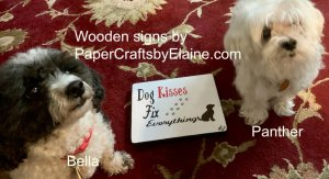 stampin up, wooden signs, making wooden signs, wooden sign kits, stampin up on wood signs, using die cuts on wooden signs, greeting cards, scrapbooking, home decor, home decor and pets