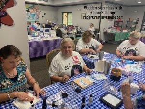 Wooden sign classes, scrapbooking, retreats in nc,  Retreats in NC, scrapbooking retreats in NC,