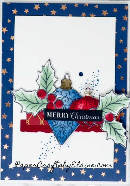 Brightly Gleaming for Christmas is a great set for all your Christmas card, invitation and decorating around the house.  Now I am the first to say I love traditional Christmas colors. Christmas Gleaming Bundle and Brightly Gleaming DSP changed my mind. shop here for a full list of supplies needed. https://s.tamp.in/6_CEbM