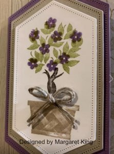 Beauty and Joy, Margaret King designs, greeting cards, Holiday cards, handmade greeting cards, handmade cards, Cards for the holiday, holiday cards from Stampin' Up,