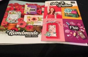 Stampin' Up mini catalog,