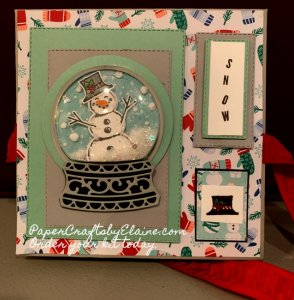 Let is Snow DSP, winter cards, birthday cards, greeting cards, handmade cards, invitation for winter, Snowman Seasons stamp set, snowman squash book fun, rainy day projects,