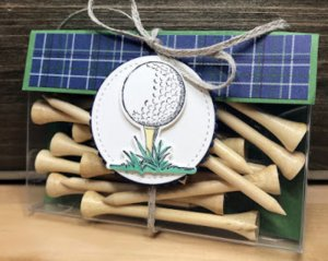 golfer gift set, golf teas, 3d projects, Golfing fun, greeting cards, handmade gifts, Happy Birthday gifts for golfers.