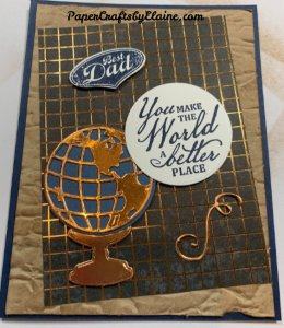 Beautiful world stamp set, 3D Old World Paper Embossing folder, Old World Dies, Greeting cards, cards for men, Birthday cards,