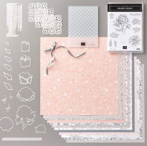 Peony Garden Suite, Free Stampin' Up products, greeting cards, 3D flowers with peony garden, Peony Garden Suite for FREE