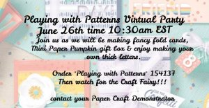 greeting cards, handmade greeting cards, virtual parties, monthly virtual parties.