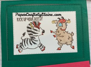 Fun with Zany Zebra and Way to Goat, fun with Zany Zebra, fun with Way to Goat, tutorial, video, greeting cards, ready to laugh, fun handmade cards, greeting cards,