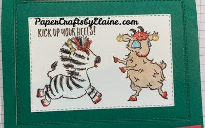 Way to Goat vs Zany Zebra stamp sets