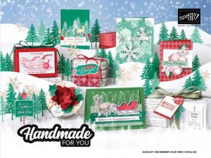 2020 Holiday Mini Catalog Stampin' Up, how to get a Stampin' Up catalog, Online free catalog from Stampin' Up.