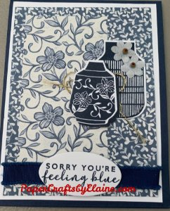 Boho Indigo Medley Kit, hand made cards, card kits for the family, kits to craft with friends, card making ideas, fun card to make with friends, paper crafting in a box,