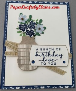 card kits for family and friends, craft kits for family, greeting cards, handmade greeting cards, Handmade cards you can make, Boho Indigo project kit,
