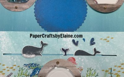 Whale Done interactive scrapbook